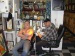 Smitty (RIP) tattooing Danny Bonaduce